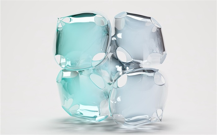 form glass light liquid-3D Creative Design HD wallpaper Views:4007