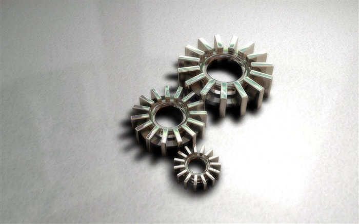 gears gear parts-3D Creative Design HD wallpaper Views:7800