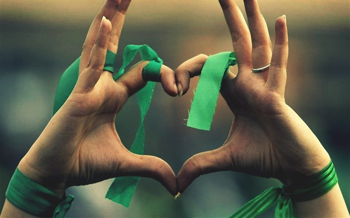 hands heart ribbon-quality Desktop HD wallpaper Views:3394