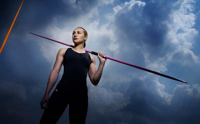 jessica ennis athletics pole sky-Sports theme wallpapers Views:3444