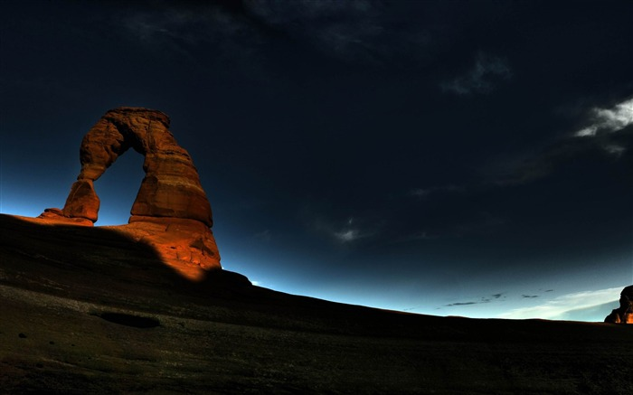 natural rock arch-beautiful scenic HD wallpaper Views:4196
