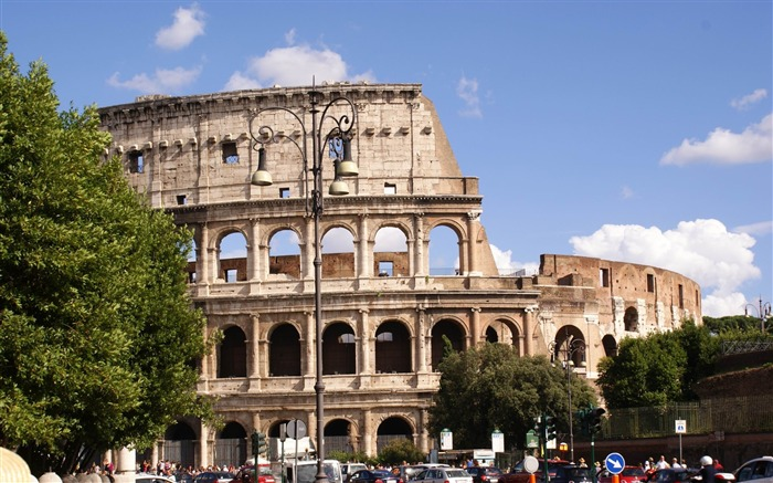 rome italy-Cities landscape widescreen wallpaper Views:3299