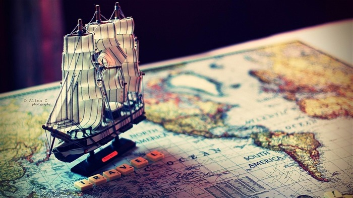 ship map world souvenir-quality Desktop HD wallpaper Views:4312