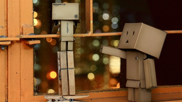 steam glass curiosity-Danboard boxes robot photo HD Wallpaper Views:5556