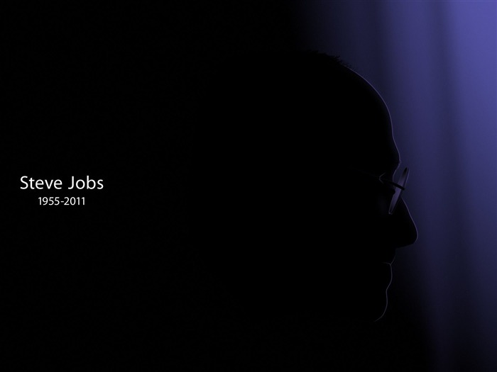 steve jobs dark-quality Desktop HD wallpaper Views:5247