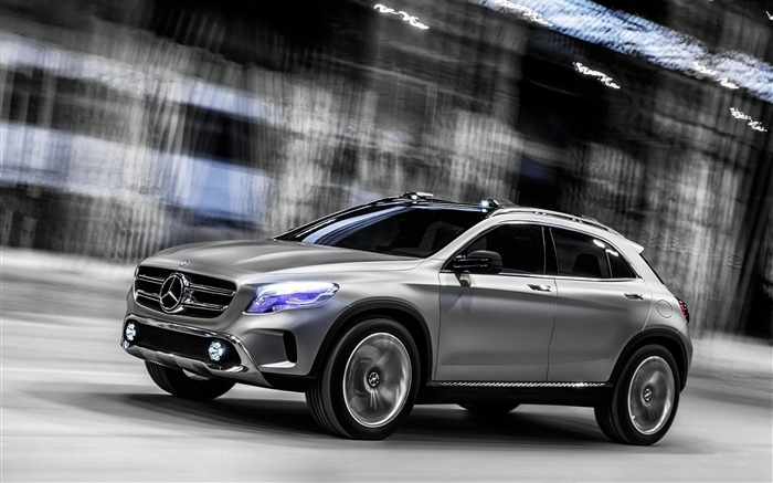 2013 Mercedes-Benz GLA Concept Auto HD Wallpaper Views:8226