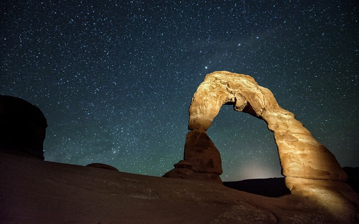 American Arches National Park Photography Desktop Wallpaper Views:7693