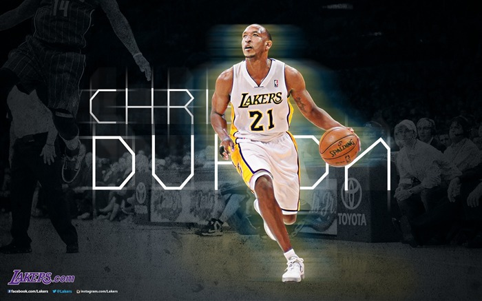 Chris Duhon-NBA Los Angeles Lakers 2012-13 season Wallpaper Views:2759