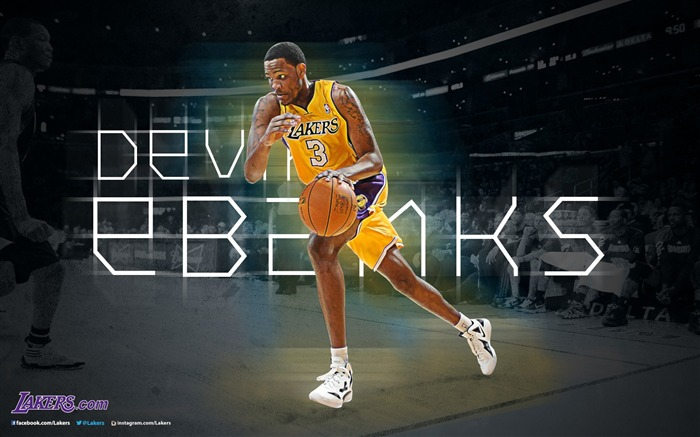 Devin Ebanks-NBA Los Angeles Lakers 2012-13 season Wallpaper Views:2758