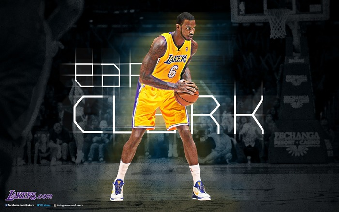 Earl Clark-NBA Los Angeles Lakers 2012-13 season Wallpaper Views:2749