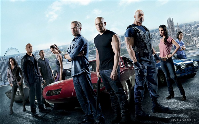FAST AND FURIOUS 6 2013 Movie HD Desktop Wallpaper 04 Views:12084