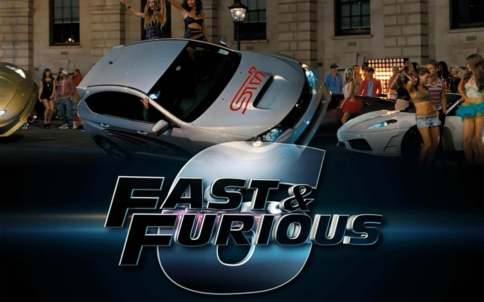 FAST AND FURIOUS 6 2013 Movie HD Desktop Wallpaper Views:9700