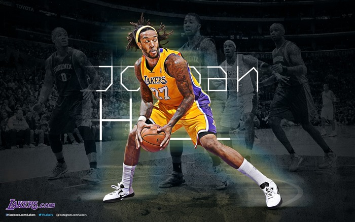 Jordan Hill-NBA Los Angeles Lakers 2012-13 season Wallpaper Views:3762