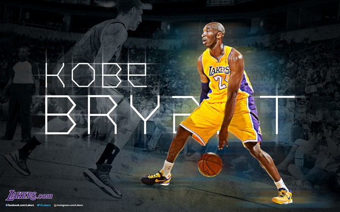 Kobe Bryant-NBA Los Angeles Lakers 2012-13 season Wallpaper Views:10291