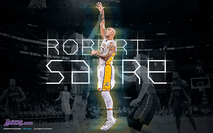 Robert Sacre-NBA Los Angeles Lakers 2012-13 season Wallpaper Views:4493
