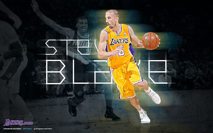 Steve Blake-NBA Los Angeles Lakers 2012-13 season Wallpaper Views:3414