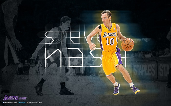 Steve Nash-NBA Los Angeles Lakers 2012-13 season Wallpaper Views:4878