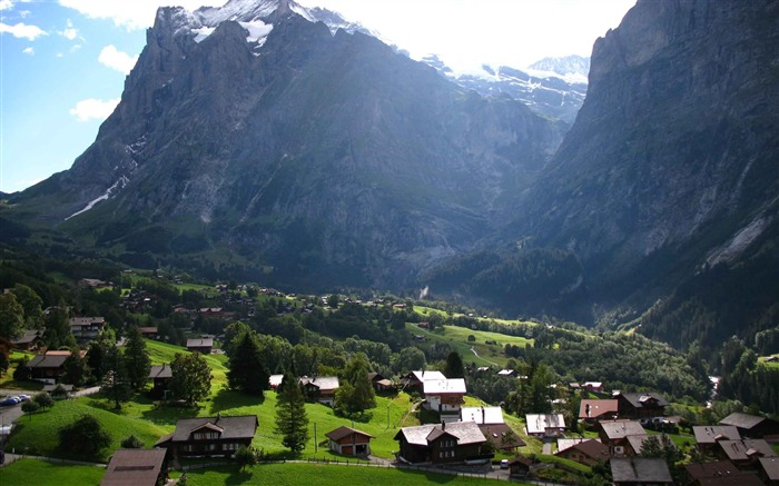 Switzerland City travel landscape photography wallpaper 02 Views:2757
