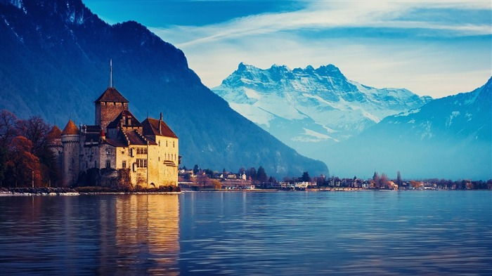 Switzerland City travel landscape photography wallpaper 09 Views:7305