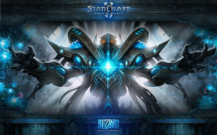 The 15th anniversary of the StarCraft series theme HD wallpaper Views:5762