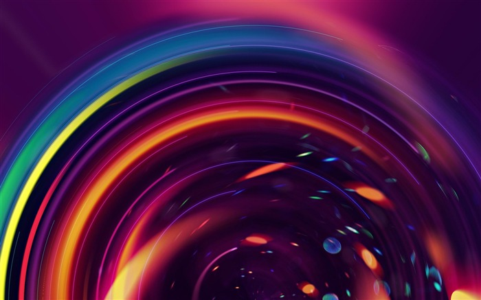 Title:circles colorful lines bright-Abstract art design wallpaper Views:4489