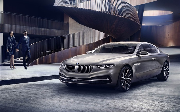 2013 BMW Pininfarina Gran Lusso Coupe Auto HD Wallpaper 07 Views:4081