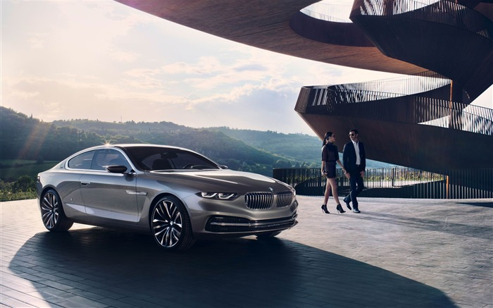 2013 BMW Pininfarina Gran Lusso Coupe Auto HD Wallpaper 09 Views:3008