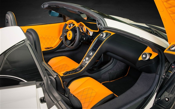 2013 MCLaren MP4-12C Spider by Gemballa Auto HD Desktop Wallpaper 06 Views:2911