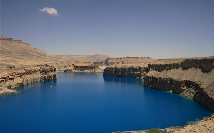 Afghanistan Band E Amir-Beautiful natural landscape wallpaper Views:6573