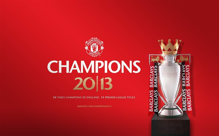 Manchester United 2012-13 Barclays champions Wallpapers Views:8467