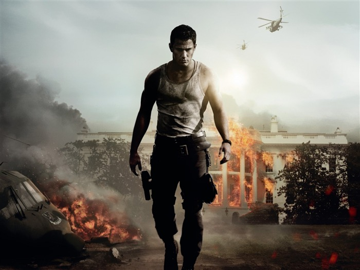 WHITE HOUSE DOWN Movie HD Desktop Wallpaper Views:5095