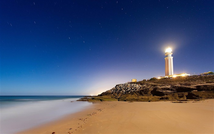 cape trafalgar lighthouse-Landscape widescreen wallpaper Views:2943