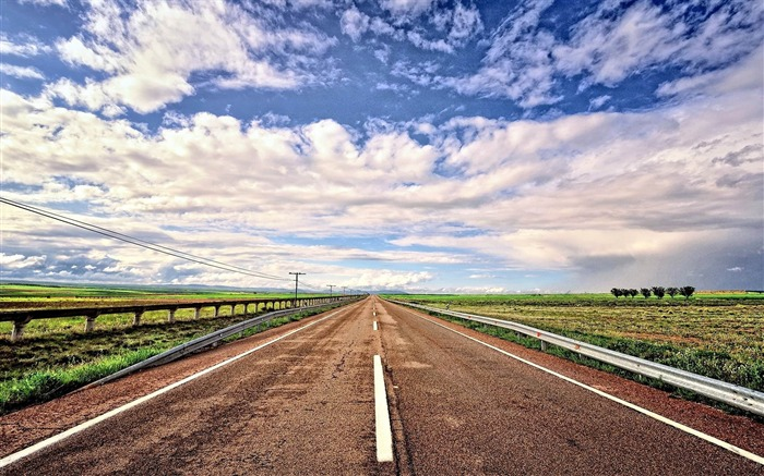 road field landscape layout-Landscape widescreen wallpaper Views:4511