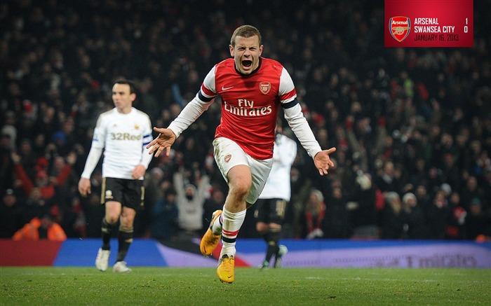 2013 Arsenal Football Club Latest Hd Wallpaper Album List