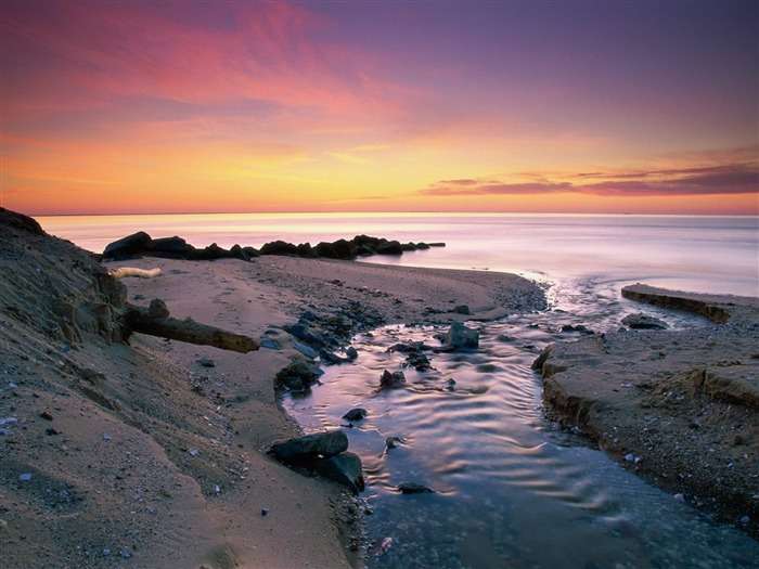 Beach Sunset Photography-Attractive scenery wallpaper Views:2916