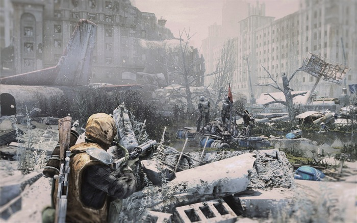 Metro Last Light Game HD Desktop Wallpaper 18 Views:1583