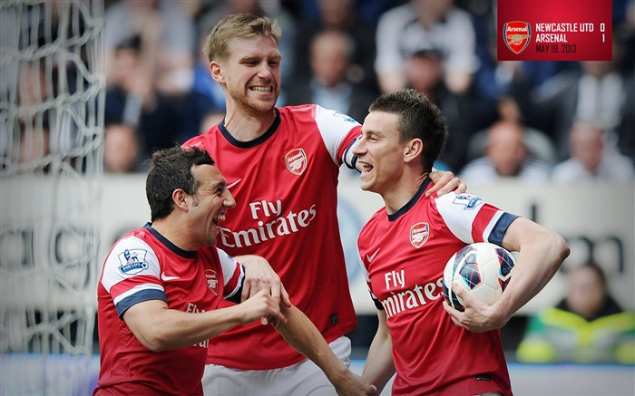 2013 Arsenal Football Club Latest HD Wallpaper Views:7281