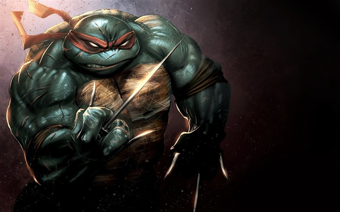 Teenage Mutant Ninja Turtles-Out Of the Shadows Game HD Wallpaper 01 Views:3395