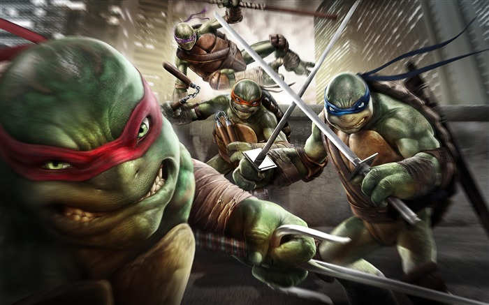 Teenage Mutant Ninja Turtles-Out Of the Shadows Game HD Wallpaper Views:9320