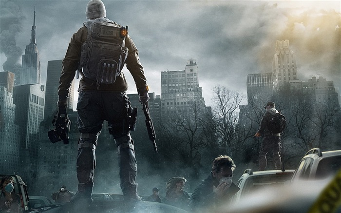 Tom Clancys The Division Game HD Desktop Wallpaper Views:12658