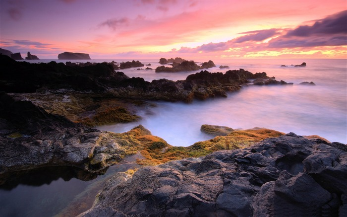 Widescreen Beach Landscape-Attractive scenery wallpaper Views:3021