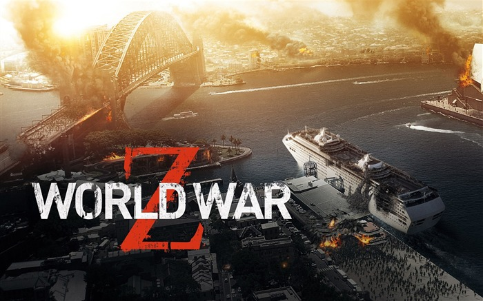 World War Z 2013 Movie HD Desktop Wallpaper Views:7668