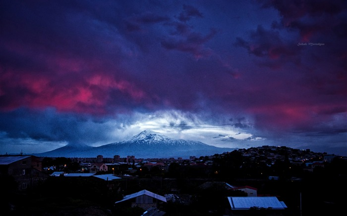 armenia ararat-Landscape photography wallpaper Views:5970
