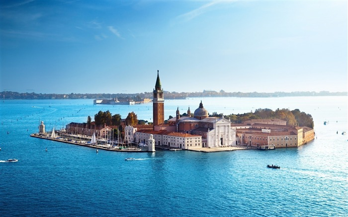 giorgio maggiore venice island-city photography HD Wallpaper Views:3961