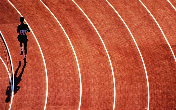 running track-Sport HD Wallpapers Views:4239