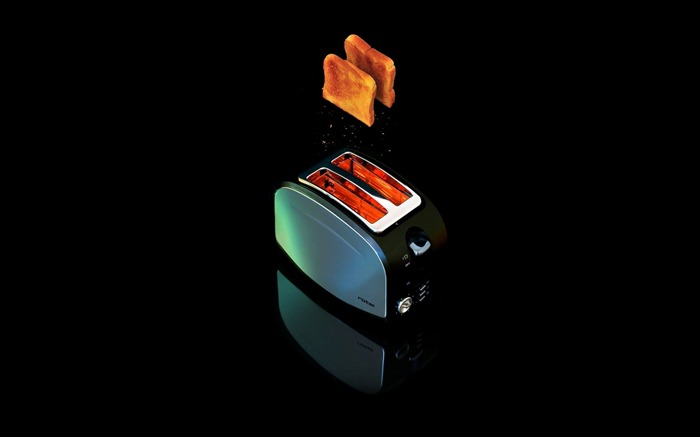 toaster-Black Artistic HD Wallpaper Views:2485
