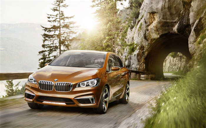 BMW Active Tourer Outdoor Concept Auto HD Wallpaper Views:5910