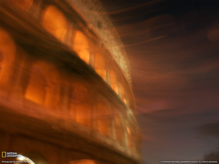 Colosseum Rome-National Geographic wallpaper Views:4600