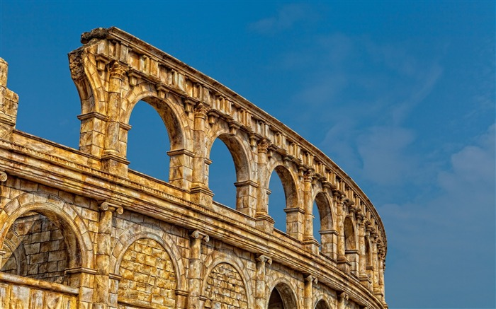 Colosseum Rome Italy-Cities architectural photo wallpaper Views:4011