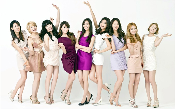 Girls Generation beauty girls photo Wallpaper Views:11730